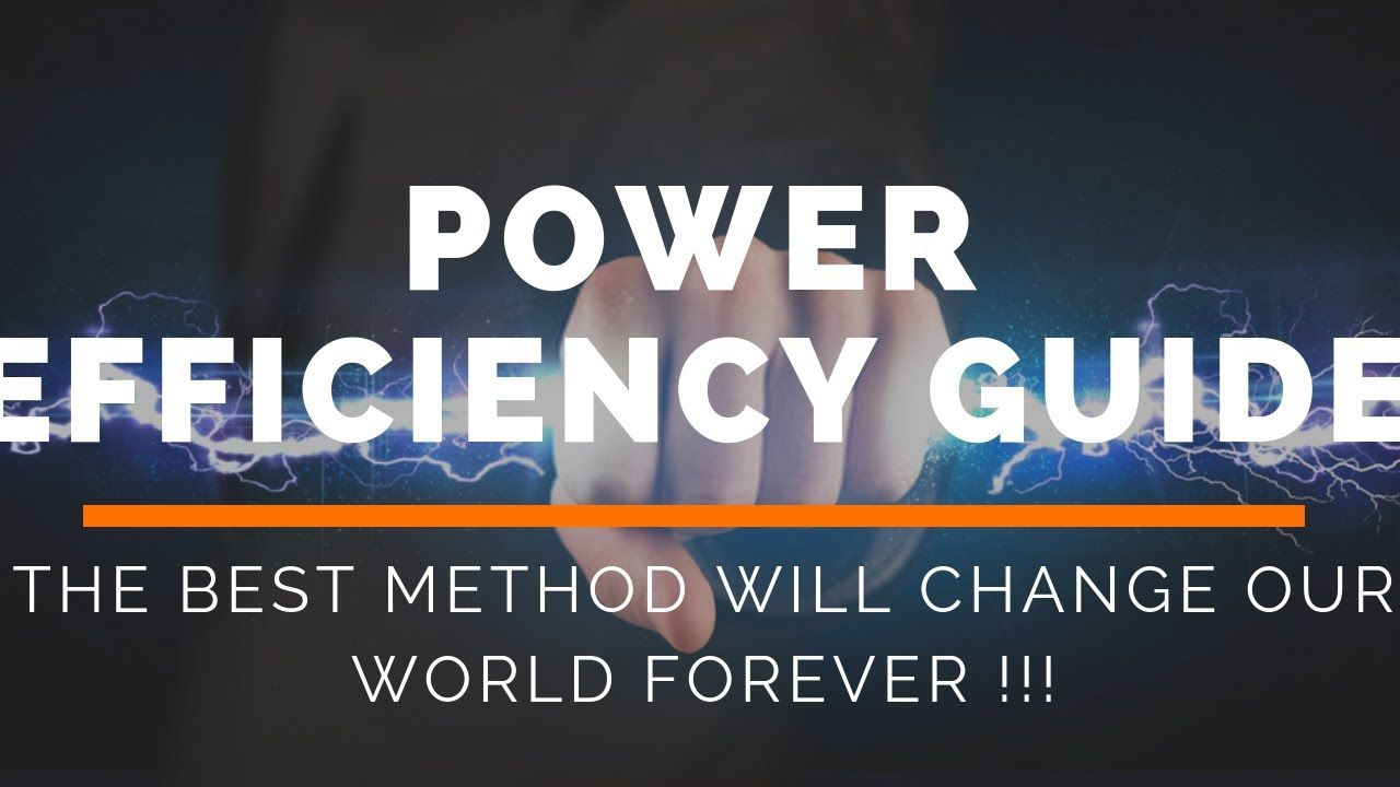 Does Power Efficiency Guide Work?